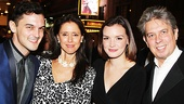It's Only A Play - Opening - 10/14 - Wesley Taylor - Julie Taymor - Jennifer Damiano - Elliot Goldenthal