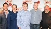 Something Rotten - Meet the Press - 2/15 -Kevin McCullum - Wayne Kirkpatrick - Karey Kirkpatrick - John O'Farrell - Casey Nicholaw