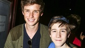 Finding Neverland - Backstage - 5/15 - Eddie Redmayne  - Sawyer Nunes