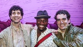 Something Rotten! - Backstage - 6/15 - John Cariani - Taye Diggs - Brian d'Arcy James