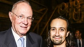 Hamilton - backstage - 9/15 - Anthony Kennedy -  Lin-Manuel Miranda