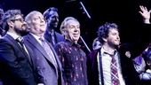 School of Rock - Opening - 12/15 - director Laurence Connor, scribe Julian Fellowes, composer Andrew Lloyd Webber and Alex Brightman