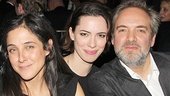 Roundabout Gala - Sam Mendes - OP - 3/14 - Lily Thorne - Rebecca Hall - Sam Mendes