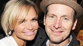 Tony winners Kristin Chenoweth and Denis O'Hare—O'Hare starred in the 1998 revival of Cabaret.