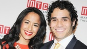MTC Gala - 2014 - OP - 5/14 - Courtney Reed - Adam Jacobs