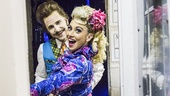 Matilda - Backstage - 2/15 - Matt Harrington - Lesli Margherita