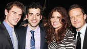 Peter and the Starcatcher Opening Night – Jay Armstrong Johnson – Adam Chanler-Berat – Debra Messing – Will Chase