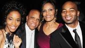 'Motown' Opening Night — Valisia LeKae — Berry Gordy — Eskedar Gobeze — Brandon Victor Dixon