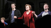 Mothers and Sons stars Grayson Taylor, Frederick Weller, Tyne Daly and Bobby Steggert take their first official opening night bows.