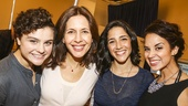 Fiddler on the Roof - Meet the Press - 10/15 - Melanie Moore, Jessica Hecht, Samantha Massell and Alexandra Silber
