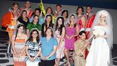 Mamma Mia 15th Longest Running Show - cast - real brides