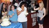 Mamma Mia 15th Longest Running Show - Brandi Burkhardt - winner (toast)