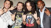 Mets and Yankees at Rock of Ages - Carlos Beltran - Carlos Delgado - Kevin Millar - Constantine Maroulis