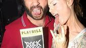 Judd Apatow and Leslie Mann at Rock of Ages - Judd Apatow - Leslie Mann