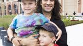 Will Swenson Sings at Mets Game - Will Swenson - Sawyer - Bridger (outside stadium)