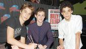 Billy Elliot at Planet Hollywood - Kiril Kulish - Trent Kowalik - David Alvarez (signing)