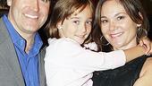 Brian d'Arcy James at Sardi's - Brian d'Arcy James - Jennifer Prescott – daughter Grace