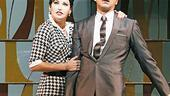 Gina Gershon as Rosie and John Stamos as Albert Peterson in Bye Bye Birdie