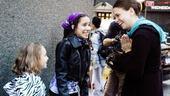 Shrek princess contest winners – Laura Laureano – Hannah Beatt – Sutton Foster