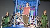 Shrek princess contest winners – Laura Laureano – Sutton Foster – Hannah Beatt (tower)
