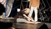 Fela Rehearsal - Toe touch