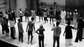 Fela Rehearsal - Vocal warm-up