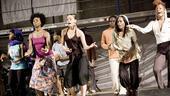 Fela Rehearsal - Cast dancing
