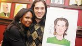 Swenson and Creel at Sardi's – Will Swenson – Audra McDonald