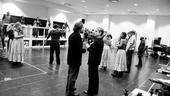 Ragtime rehearsal – Marcia Milgrom Dodge – Robert Petkoff
