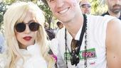 Hair at the National Equality March - Lady Gaga - Gavin Creel