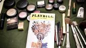 Ragtime First Preview – makeup brushes