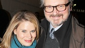 Tony nominee Celia Keenan-Bolger and her husband, Tony nominee John Ellison Conlee, enjoy a date night on Broadway.