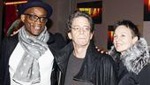 Fela Opening Night - Bill T. Jones - Lou Reed - Laurie Anderson