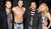 Joey Fatone and Lance Bass at Burn the Floor – Lance Bass – Maksim Chmerkovskiiy – Joey Fatone – Kym Johnson