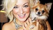 Legally Blonde London opening – Sheridan Smith – dog