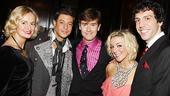 Legally Blonde London opening – Nell Benjamin – Duncan James – Laurence O'Keefe – Sheridan Smith – Alex Gaumond