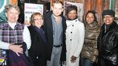 Memphis 100th Performance - Chad Kimball - Montego Glover with fans