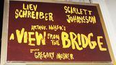 View from the Bridge Opening Night - marquee