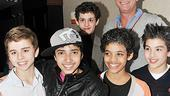 Billy Elliot 500 Performance - Michael Dameski - Dayton Tavares - Liam Redhead - Trent Kowalik - Alex Ko - Stephen Daldry - clean