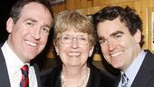 Time Stands Still Opening Night – Brian d'Arcy James – brother Andrew – mother