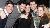 Damiano and Chanler-Berat at Joe's Pub – Joey Oliva – Noah Cornman – Jennifer Damiano – Adam Chanler-Berat – Katie Riegel