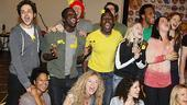 Hair Replacement Cast Meet and Greet – tribe performing (left)