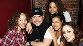 Corbin Bleu in the Heights Party – Afra Hines – Eliseo Roman - Alejandra Reyes – Rosie Fiedelman - Allison Thomas Lee