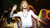 Kyle Riabko as Claude in Hair.