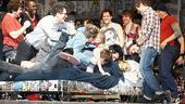 American Idiot Sound Check - Bed Pile-On