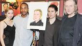 Christopher Walken at Sardi's – Zoe Kazan – Anthony Mackie – Sam Rockwell – Christopher Walken