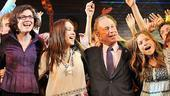 Mayor Bloomberg at Hair – Diana Taylor – Diana DeGarmo – Michael Bloomberg – Vanessa Ray