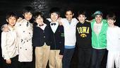 Korean Cast at Billy Elliot – Jin Ho Jung – Ji-Myeong Lee – Sunu Lim – Se-Yong Kim – Liam Redhead – Alex Ko – Dayton Tavares – Jacob Clemente