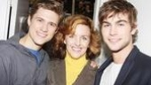 Chace Crawford at Next to Normal – Chace Crawford – Aaron Tveit – Alice Ripley