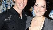 New Mary Poppins Stars 2009 at Sardi's – Christian Borle - Laura Michelle Kelly